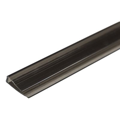 Торцевий U16 профіль 2100мм довжина, колір сіра бронза