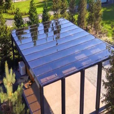 Навіс сзахистом від сонця із  монолітного полікарбонату