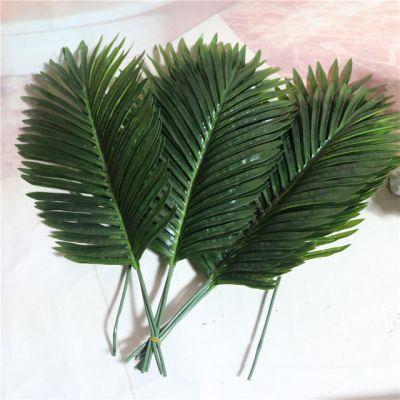 Штучний залізний лист пальмовий зелений лист рослини