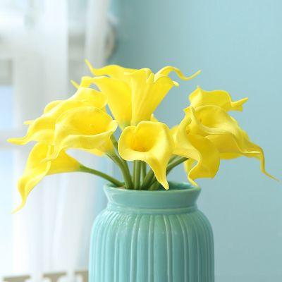 Calla Lily Feel PU Штучна квітка Шовкова квітка