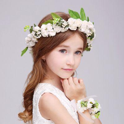 Зовнішня торгівля adicolo дорослим дітям головний убір королеви принцеси квітковий вінок весільне шоу дівчинки головний убір волосся