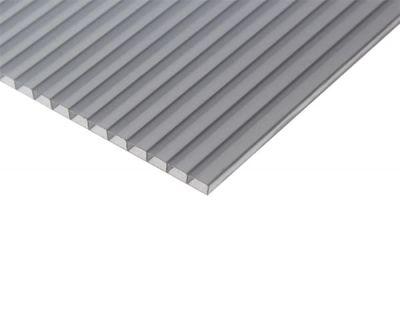 Сотовий полікарбонат BauGlas ST LONGLIFE (Сербія) 1УФ Стандарт 6 мм 2100 х 12000 мм сіра бронза, кв.м