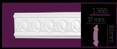 Молдинг для стен  Home Décor 1365 (2.40м)  , лепной декор из полиуретана
