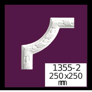 Молдинг для стен  Home Décor 1355-2 угловой  , лепной декор из полиуретана