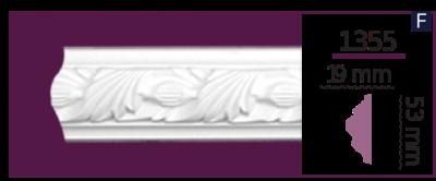 Молдинг для стен  Home Décor 1355 (2.44м)  , лепной декор из полиуретана