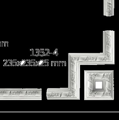 Молдинг для стен  Home Décor 1352-4 угловой  , лепной декор из полиуретана