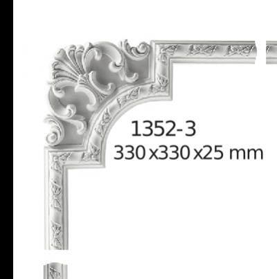 Молдинг для стен  Home Décor 1352-3 угловой  , лепной декор из полиуретана