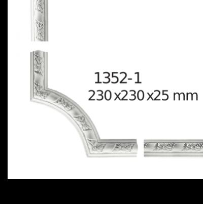 Молдинг для стен  Home Décor 1352-1 угловой  , лепной декор из полиуретана