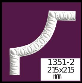 Молдинг для стен  Home Décor 1351-2 кутовий  , лепной декор из полиуретана
