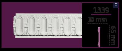 Молдинг для стен  Home Décor 1339 (2.44м)  , лепной декор из полиуретана