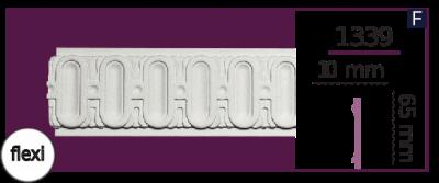 Молдинг для стен  Home Décor 1339 (2.44м) Flexi , лепной декор из полиуретана