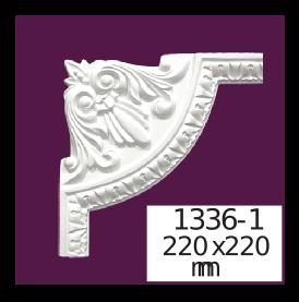 Молдинг для стен  Home Décor 1336-1 кутовий  , лепной декор из полиуретана