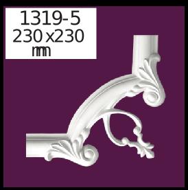 Молдинг для стен  Home Décor 1319-5 кутовий  , лепной декор из полиуретана