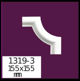 Молдинг для стен  Home Décor 1319-3 кутовий  , лепной декор из полиуретана