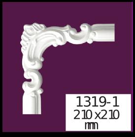 Молдинг для стен  Home Décor 1319-1 кутовий  , лепной декор из полиуретана