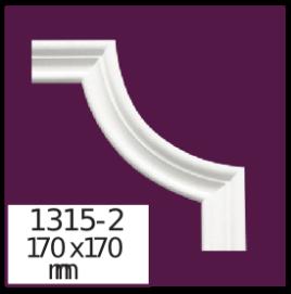 Молдинг для стен  Home Décor 1315-2 кутовий  , лепной декор из полиуретана