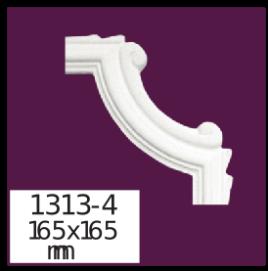 Молдинг для стен  Home Décor 1313-4   , лепной декор из полиуретана