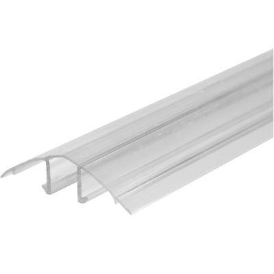 НСР профіль роз'ємний кришка 8-10мм Довжина 6000 мм Колір Прозорий