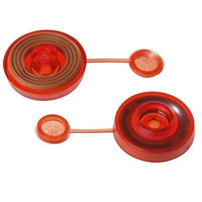 Полікарбонатна Термошайба з EPDM червона