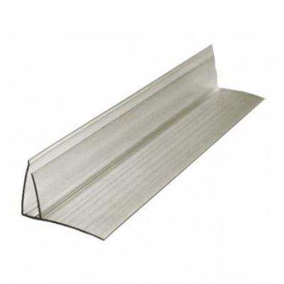 Пристінний профіль 16 мм сіра бронза 6000мм довжина