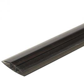 З'єднувальний Н8 профіль сіра бронза 6000мм довжина