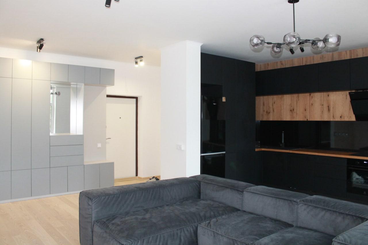 Дизайн квартир 2-х комнатная квартира ЖК «Парк Таун» г.Буча