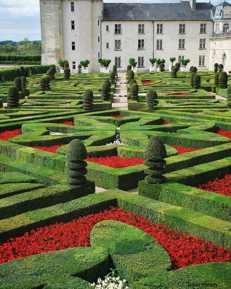 Замковый сад Вилландри